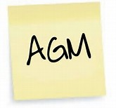 AGM Meeting 14 March 6:30pm