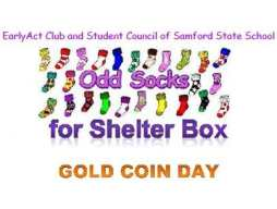 Odd Socks for Shelter Box